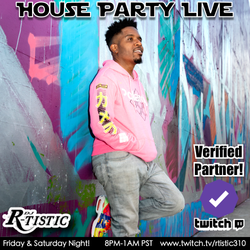 LIVE on Twitch every weekend!