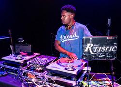 DJ R-Tistic at The Novo, 6.1.18