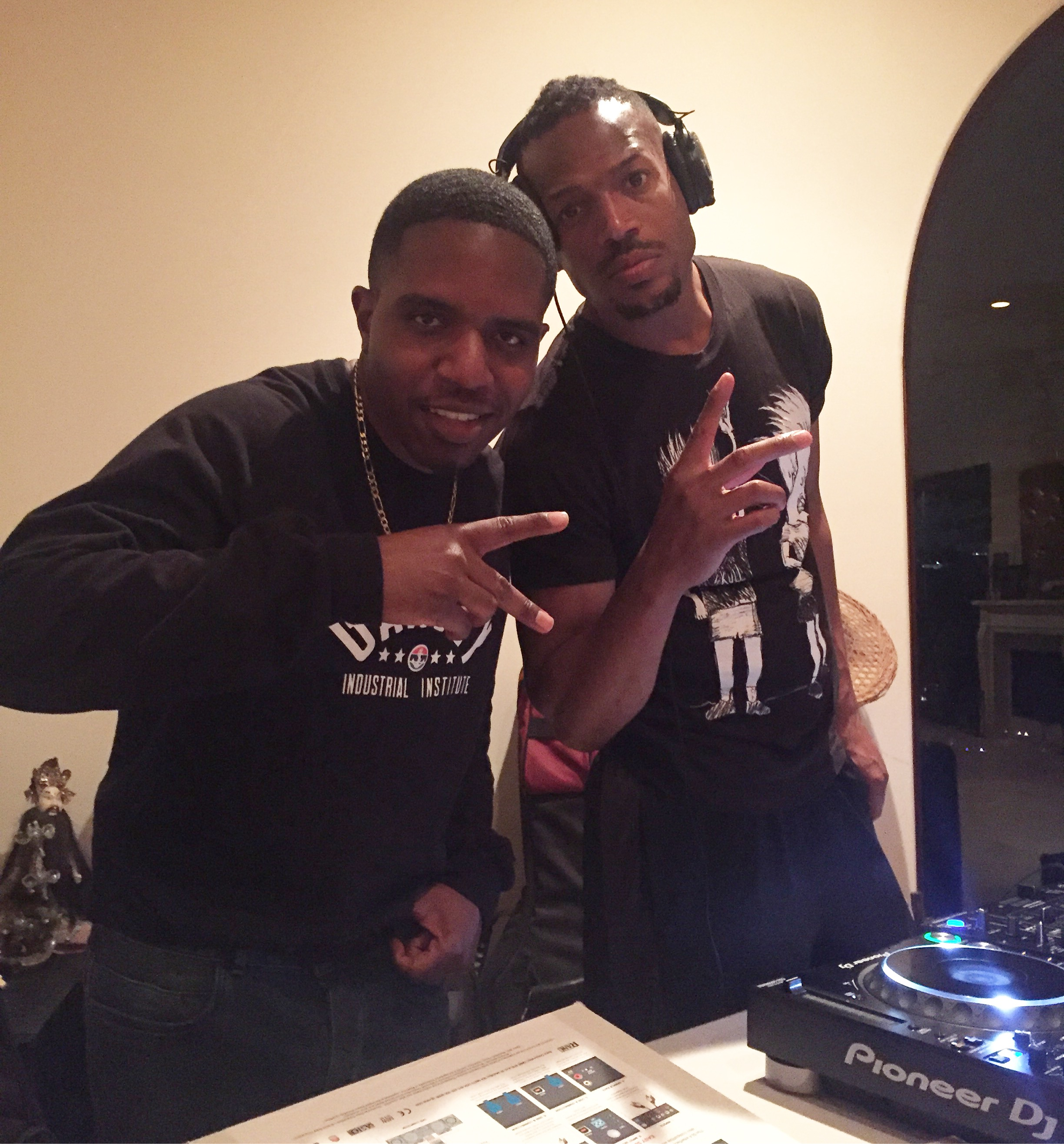DJ Lesson with Marlon Wayans