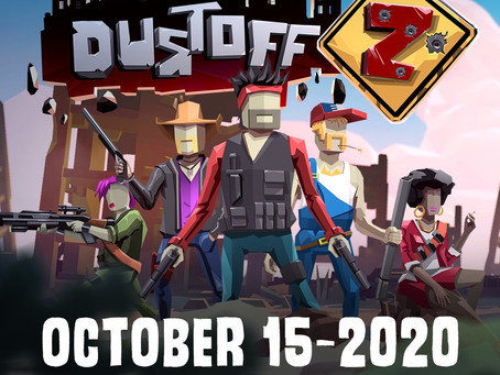Blast Zombies with Me in 'Dustoff Z'