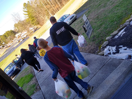 Our Outreach workers earning SPIRITUAL WADGES