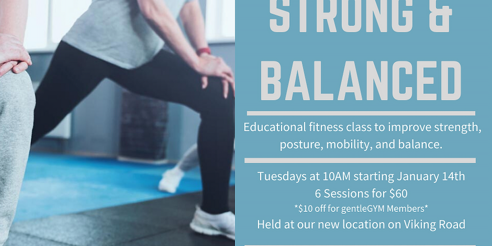 STRONG AND BALANCED - Agape Class Series (1)