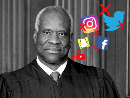Read Clarence Thomas's Roadmap To Reining In Social Media Giants