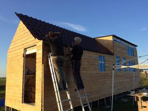 Werken aan het dak