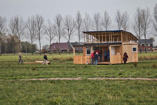 Tiny House in aanbouw