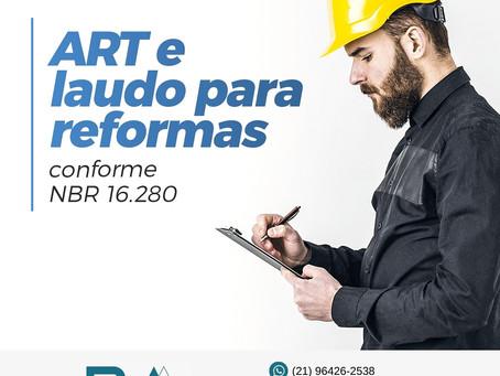 ART e Laudo de Reforma