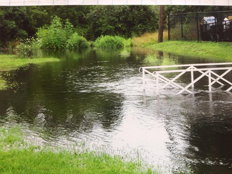 Freeman Drain Flooding