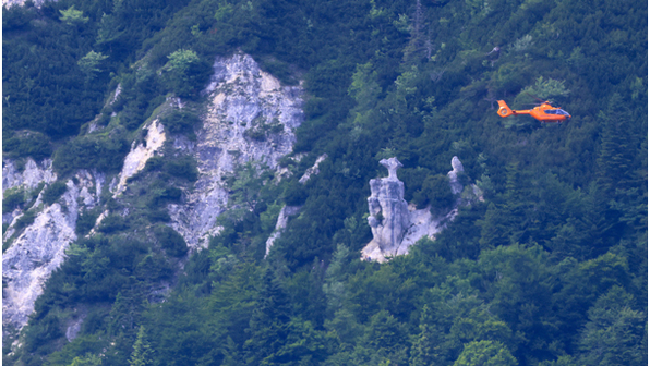 🚨 05.07.2021 Schwere Sprunggelenksverletzung an der verfallenen Steinbergalm