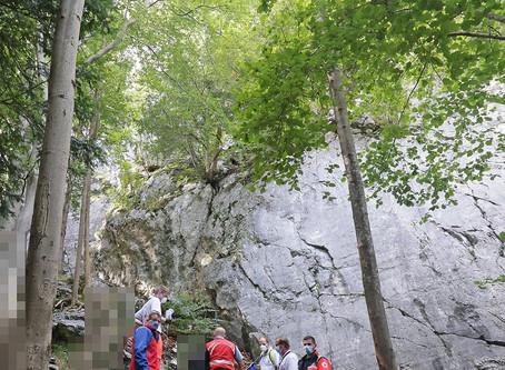 01.10.2020: 20-Jähriger stürzt im Klettergarten am Kugelbach ab