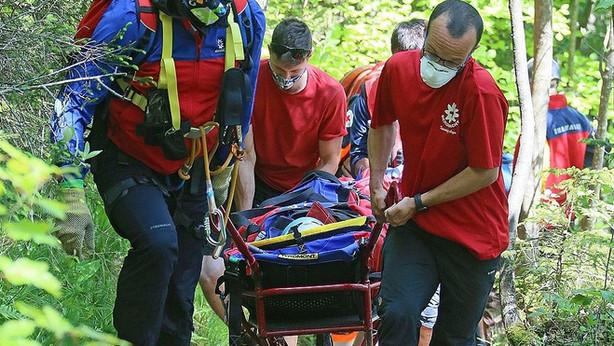 🚨09.05.2021  Bergwacht für verletzte Wanderer im Einsatz