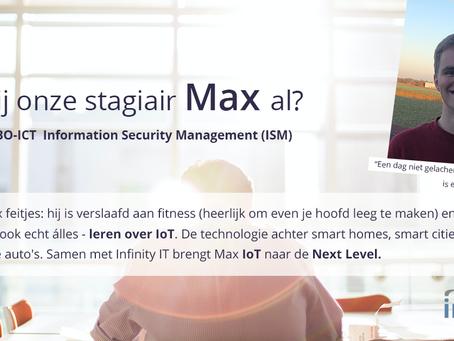 Meet The Intern - Max Meiland