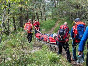 🚨19.09.21  Bergwacht holt 53-Jährige mit Knieschmerzen vom Dötzenkopf