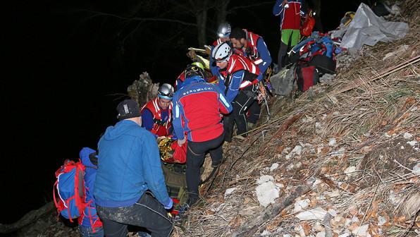 🚨13.03.2020: 24-Jähriger stürzt am Hochstaufen 15 Meter über Steilhang ab