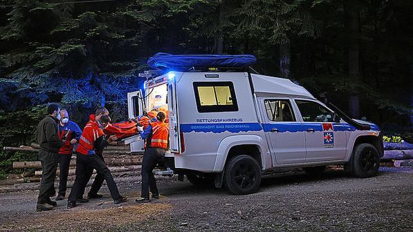 28-Jähriger stürzt bei der Abfahrt vom Paul-Gruber-Haus mit dem Mountainbike zehn Meter ab