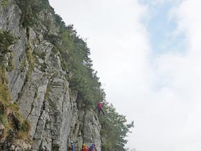 10./11.10.2020: Beim Abstieg vom Dreisesselberg in Bergnot – gebr. Sprunggelenk an der Fürmannalm