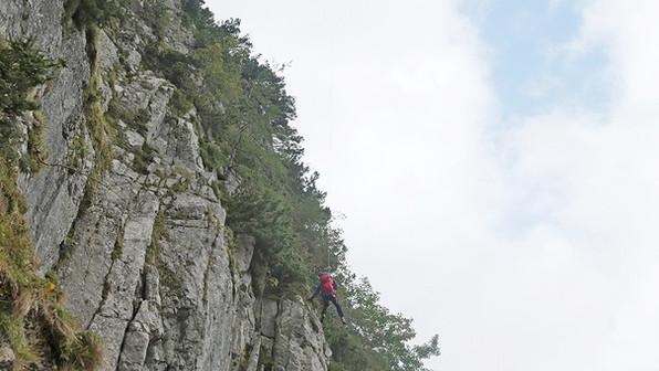 🚨10./11.10.2020: Beim Abstieg vom Dreisesselberg in Bergnot – gebr. Sprunggelenk an der Fürmannalm