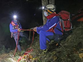 28.10.2020: Bergwacht rettet Wanderer aus absturzgefährlichem Gelände am Freimahderköpfl
