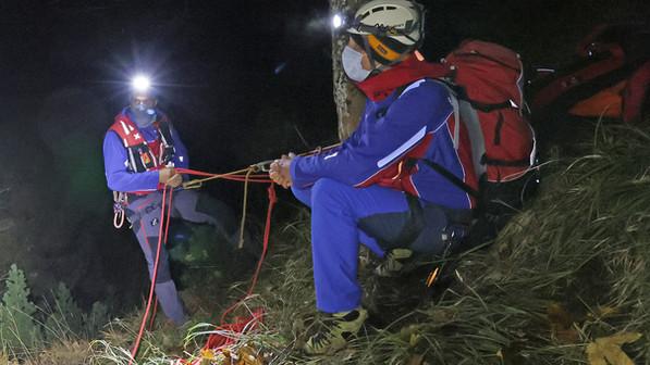 🚨28.10.2020: Bergwacht rettet Wanderer aus absturzgefährlichem Gelände am Freimahderköpfl