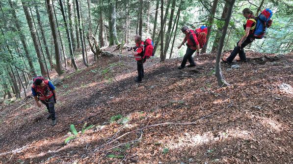 🚨18.08.2020: Bergwacht rettet verstiegenen 31-jährigen vom Fuderheuberg