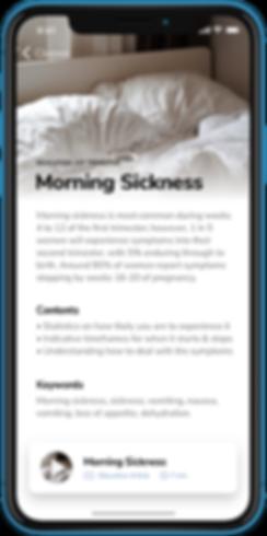 Pregnancy Education App - Morning Sickness - YogiBirth - Prenatal Yoga