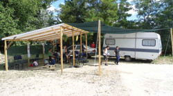 Completed Shade Structure