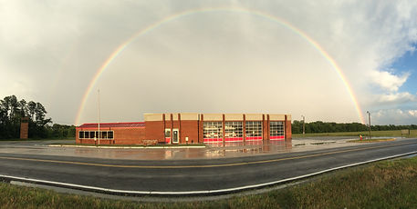 Firehouse rainbow