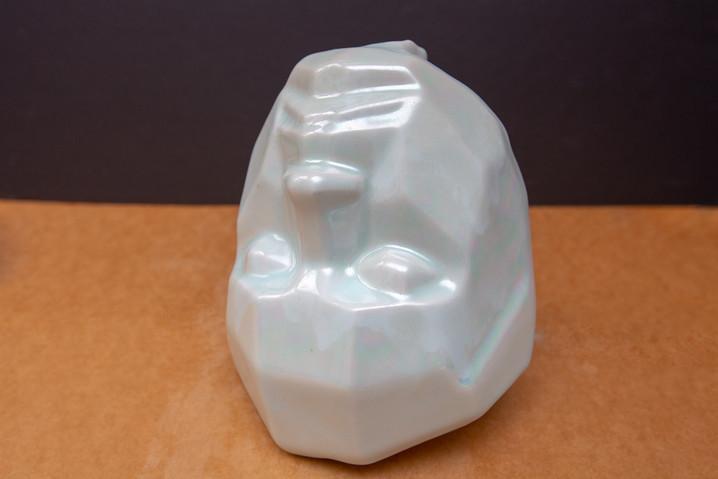 Fallen Angel Head Vase - Mother of Pearl