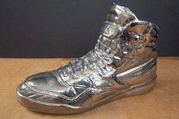 High Top - White Gold