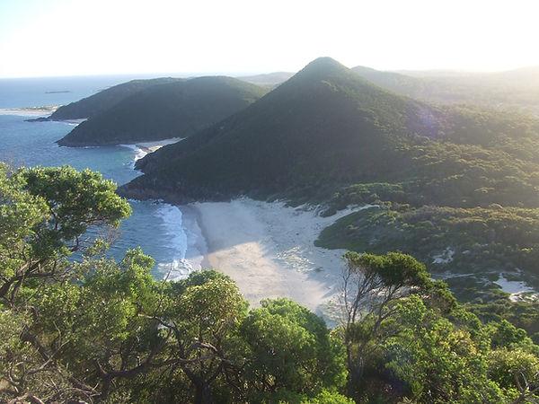An island for an energy healing retreat
