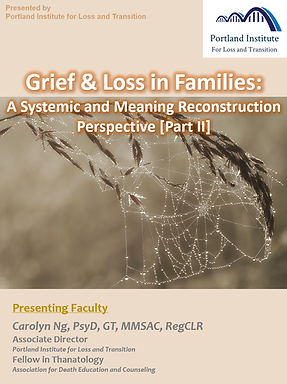 Poster - G&L in Families II.png