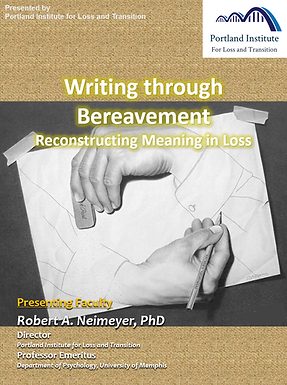 Poster - Writing thru Bereavement.png
