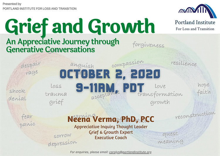 Grief & Growth - Publicity Poster (PNG).