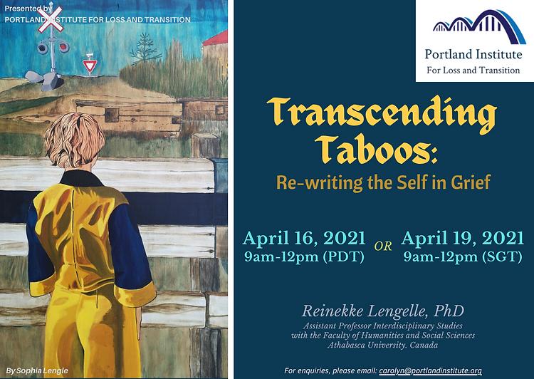 Transcending Taboo - Publicity Poster (P
