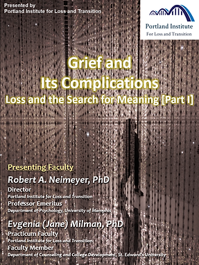 Poster - Grief & Its Complications I.png