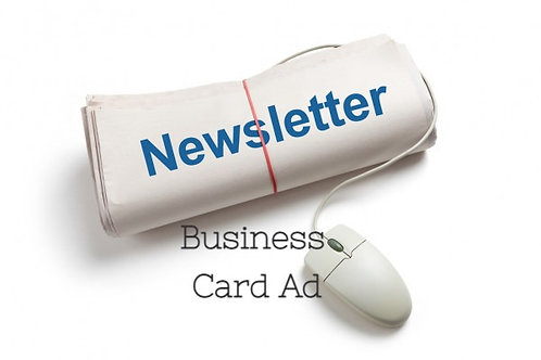 Business Card E-Newsletter Ad
