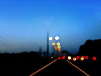 Evening ride - נסיעת לילה