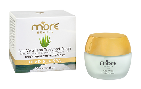 Moisturizing Treatment Cream with Aloe Vera