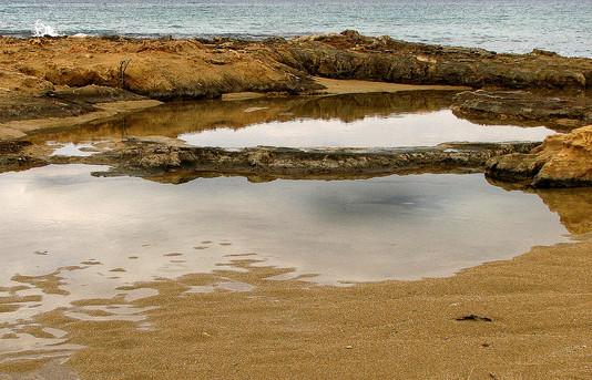 A beach - חוף