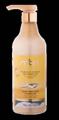 Treatment Shampoo Macadamia Oil