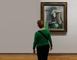 Looking at Picaso - מתבוננת בפיקאסו