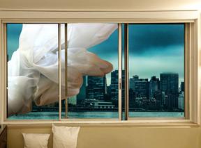 Flying curtain - וילון מעופף