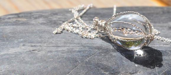Silver & glass