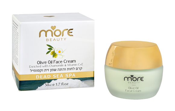Moisturizing & Nourishing Cream with Olive Oil & Chamomile