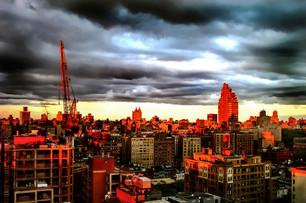 Sun set in New York - 2 - שקיעה בניו יור