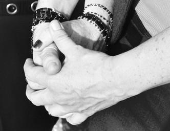 Silver & miyuki beads bracelet