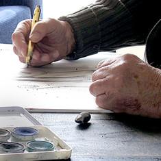 The painter's hands - 2 - ידי הצייר