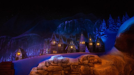 Disneyworld Frozen Ride
