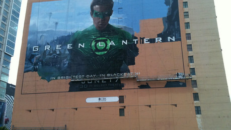 Green Lantern Ad (with Arteck)