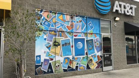 AT&T - Digital Murals