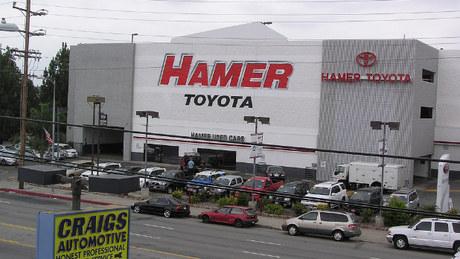 Hamer Toyota Dealership